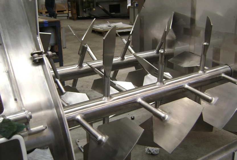 Twin Shaft Paddle Mixers For Powder Blending